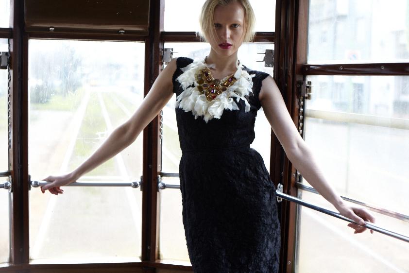 Elana @Fashion Model Management Milan for Razor Red Magazine