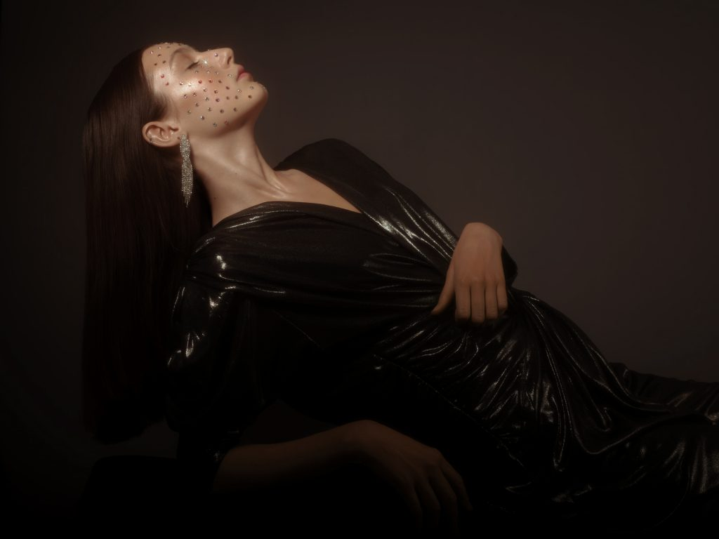 Swarovski make up beauty shoot by Jana Anhalt